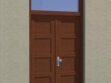 Vstupní dveře dvoukřídlé