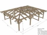 Pergola - náhled konstrukce