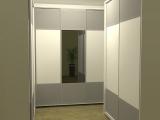 Šatní skříně - varianta 1
