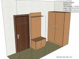 Návrh vstupní chodby bytu
