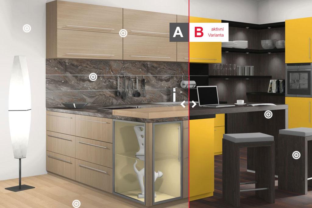Výběr dekorů pro nábytek a kuchyňské linky - Egger VDS